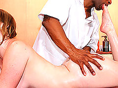 Busty Vintage, Brazzers Porn Massage Table Deep Fuck