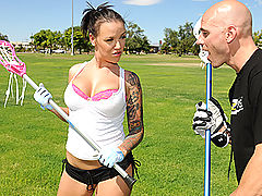 Busty Babes, Brazzers Video Lacrosse Lacock