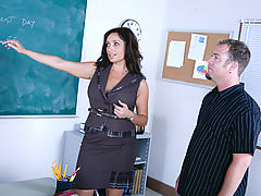Busty Babes, Vannah Sterling & Jenner as Sexy Teacher