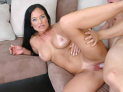 Busty Housewives, Angel Caliente in Fucking Hot Moms