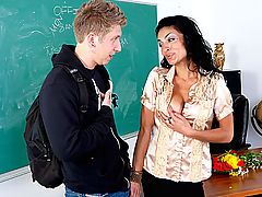 Bigtits Officesex, Persia Pele & Danny Wylde as Sexy Teacher